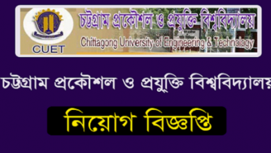 Photo of Chittagong University of Engineering and Technology (CUET) Job Circular 2019