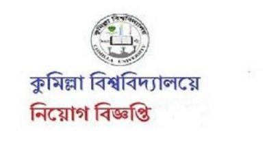 Photo of Comilla University Job Circular 2019