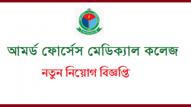 Photo of Army Medical College Job Circular 2019