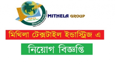 Photo of Mithela Textile Industries Limited Job Circular 2019