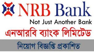 Photo of NRB Bank Limited Job Circular 2019