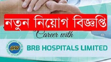 Photo of BRB Hospital Limited Job Circular 2019