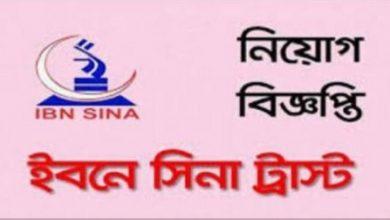 Photo of IBN Sina Trust Job Circular 2019