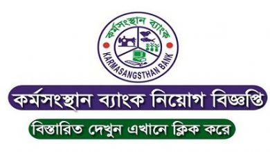 Photo of Karmasangsthan Bank Job Circular 2019