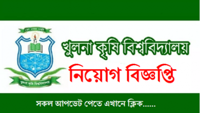 Photo of Khulna Agricultural University Job Circular 2019