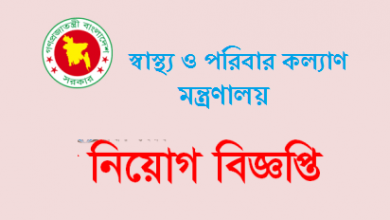 Photo of Ministry of Health and Family Welfare Job Circular 2019