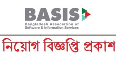 Photo of Bangladesh Association of Software and Information Services (BASIS) Job Circular 2019
