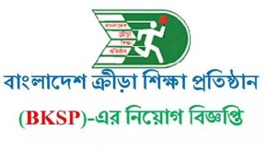 Photo of Bangladesh Krira Shikkha Protishtan (BKSP) Job Circular 2019