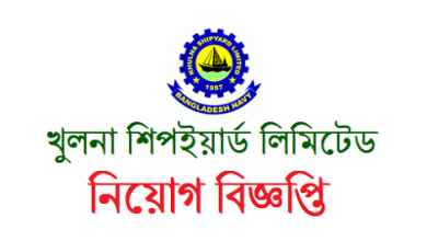 Photo of Khulna Shipyard Limited Job Circular 2019