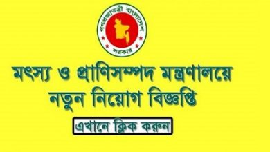 Photo of Ministry of Fisheries and Livestock Job Circular 2019