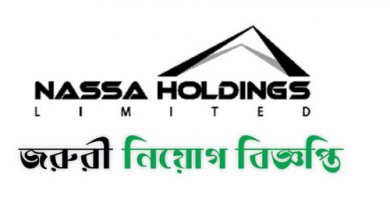 Nassa Holdings Limited Job Circular 2019