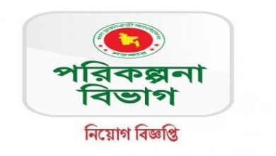Photo of Planning Division Job Circular 2019