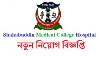Photo of Shahabuddin Medical College and Hospital Job Circular 2019