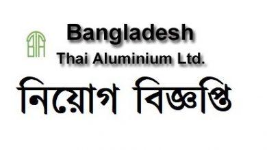 Photo of Bangladesh Thai Aluminium Limited Job Circular 2020