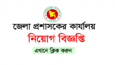 Photo of Deputy Commissioner's Office Job Circular 2020
